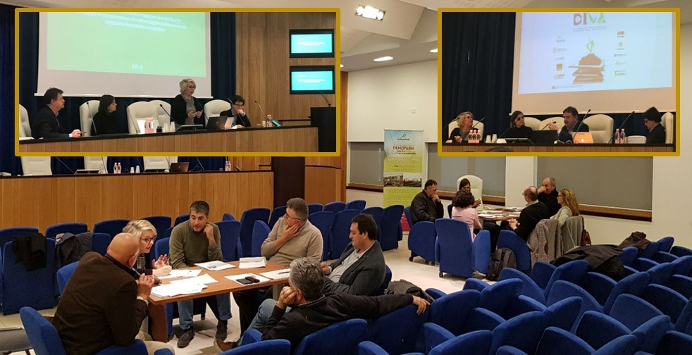 Focus group in Italy: ICT Needs of agrofood, forestry and environmental sector