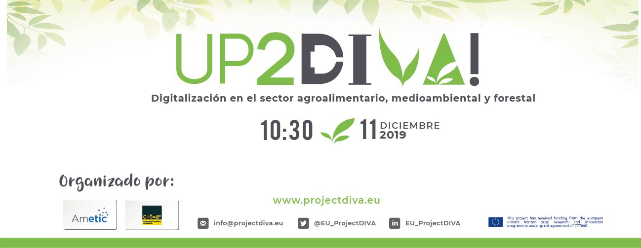 UP2DIVA- Launch second call for projects – Spain